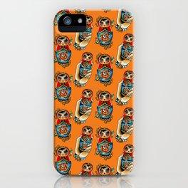 Matryoshkas Flash iPhone Case