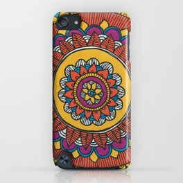 Patterned Flower iPhone Case