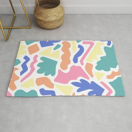 Playful Puzzle Rug