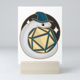 Wizard Snake (D&D Snakes) Mini Art Print