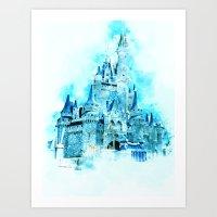Cinderellas Castle Art Print