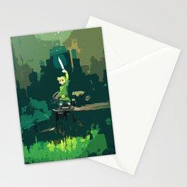 Legend Of Zelda Link Painting Art Stationery Cards