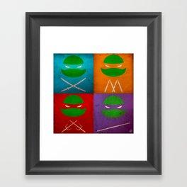 TMNT Collection Framed Art Print