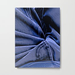 Blue Denim by David Brier Metal Print