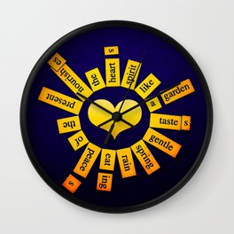 Infinite Garden Wall Clock