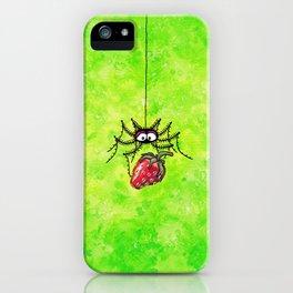 Strawberry-Spider iPhone Case