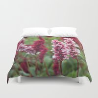 norway Duvet Covers featuring Norway I by Cynthia del Rio