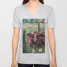 Bull in Cairns Unisex V-Neck