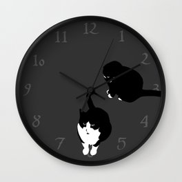 Terrible Twosome Wall Clock