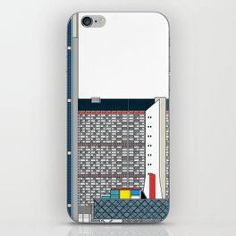 Complejo Parque Central -Detail- iPhone Skin