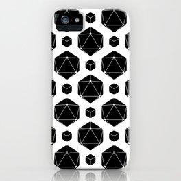 Die Die Die White iPhone Case