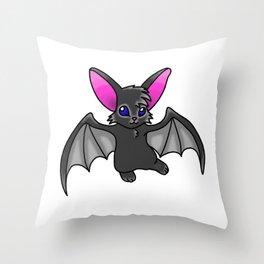 Reanna's Bat The Sequel  Throw Pillow