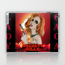 G Killer Part 4 - La Chamaleon (Machete Kills) Laptop & iPad Skin
