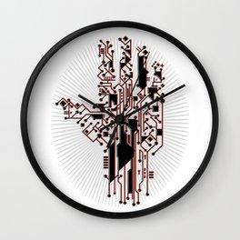 Hand of the Cyborg Wall Clock