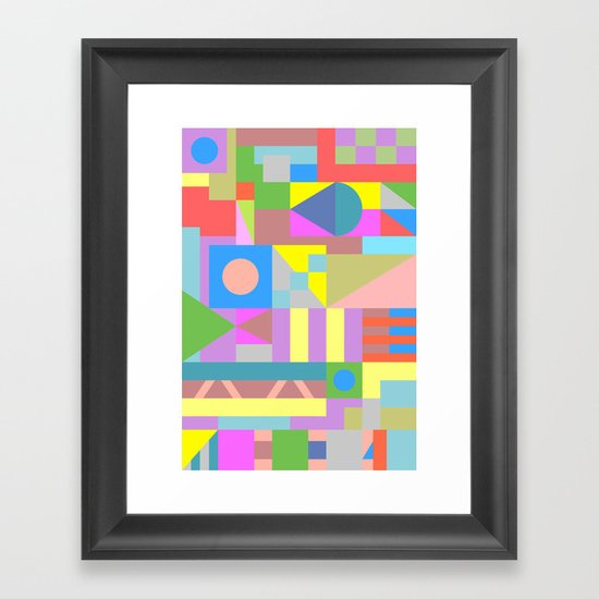 The Best Possible Solution Framed Art Print