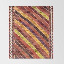 Baluch Northwest Afghanistan Rug Print Throw Blanket