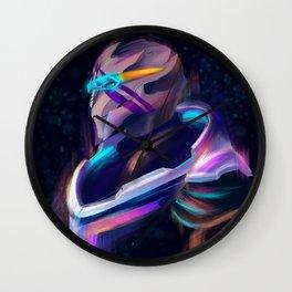 NEON Vetra Nyx fan art Wall Clock