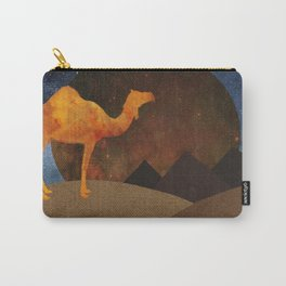 Camel, Desert and Pyramid Carry-All Pouch