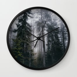 Into the forest we go Wall Clock