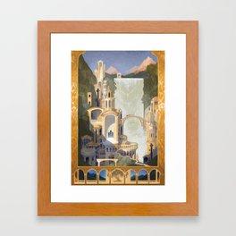 The Elven Refuge Framed Art Print