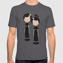 Meredith and Delany: Vampire Twins T-shirt
