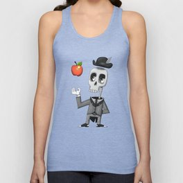Skeleton Unisex Tank Top