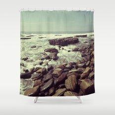 Tidal Flow Shower Curtain
