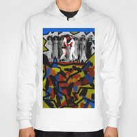 boys Hoodies featuring Boys Will Be Boys by AF Knott
