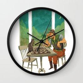 Lt. Falcon Wall Clock