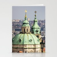 prague Stationery Cards featuring Prague by Veronika