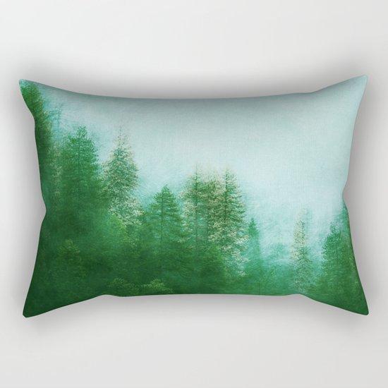 Dreamy Spring Forest Rectangular Pillow