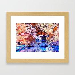 Japanese Lantern Framed Art Print