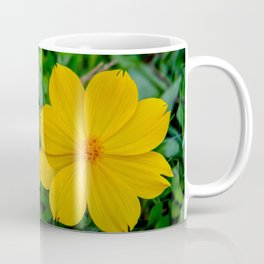 Two Yellow Flowers Coffee Mug
