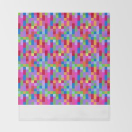 Hot Pixels Throw Blanket