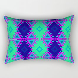 Indian Designs 78 Rectangular Pillow