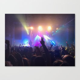 Colorful Concert (Walk the Moon) Canvas Print