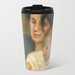Gabrielle et Jean by Pierre-Auguste Renoir Travel Mug