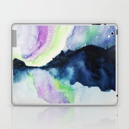 Northern Lights Watercolor Laptop & iPad Skin