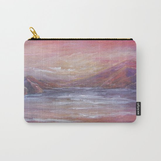 Landscape in Pink MM150601 Carry-All Pouch