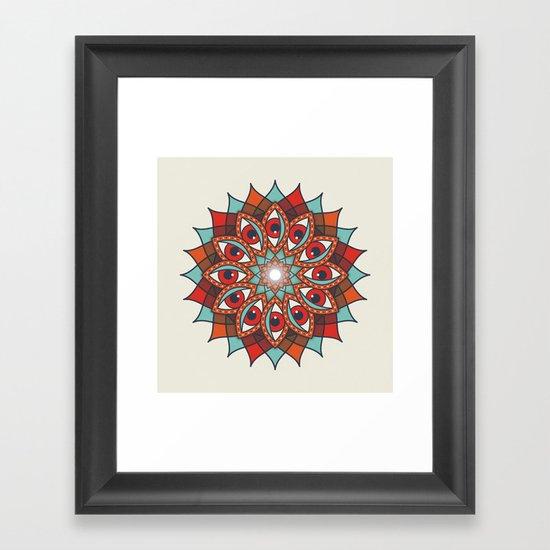 Bali Eyes 1 Framed Art Print