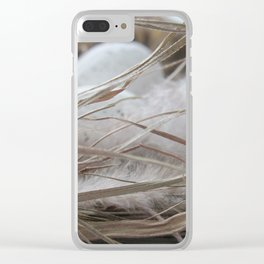 BIRD NEST Clear iPhone Case