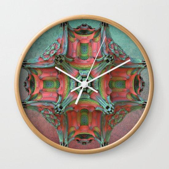 That Odd Flower Wall Clock