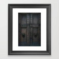 Sanctuary of Secrets Framed Art Print