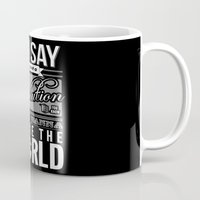 revolution Mugs featuring Revolution.  by Creation Factory