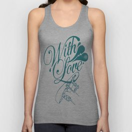 With Love Unisex Tank Top
