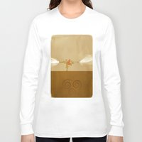 avatar the last airbender Long Sleeve T-shirts featuring Avatar Aang by daniel