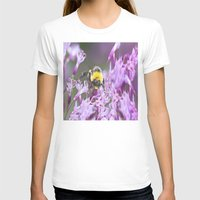bee T-shirts featuring Bee by Dora Birgis