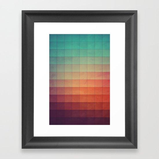 cyvyryng Framed Art Print