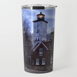 Night at the Light Travel Mug