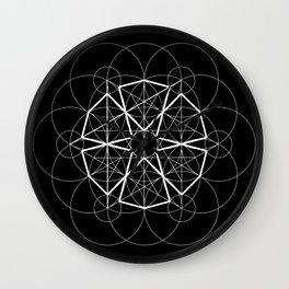 Geometry, geometric design Wall Clock
